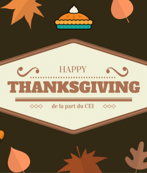CEI Happy Thanksgiving